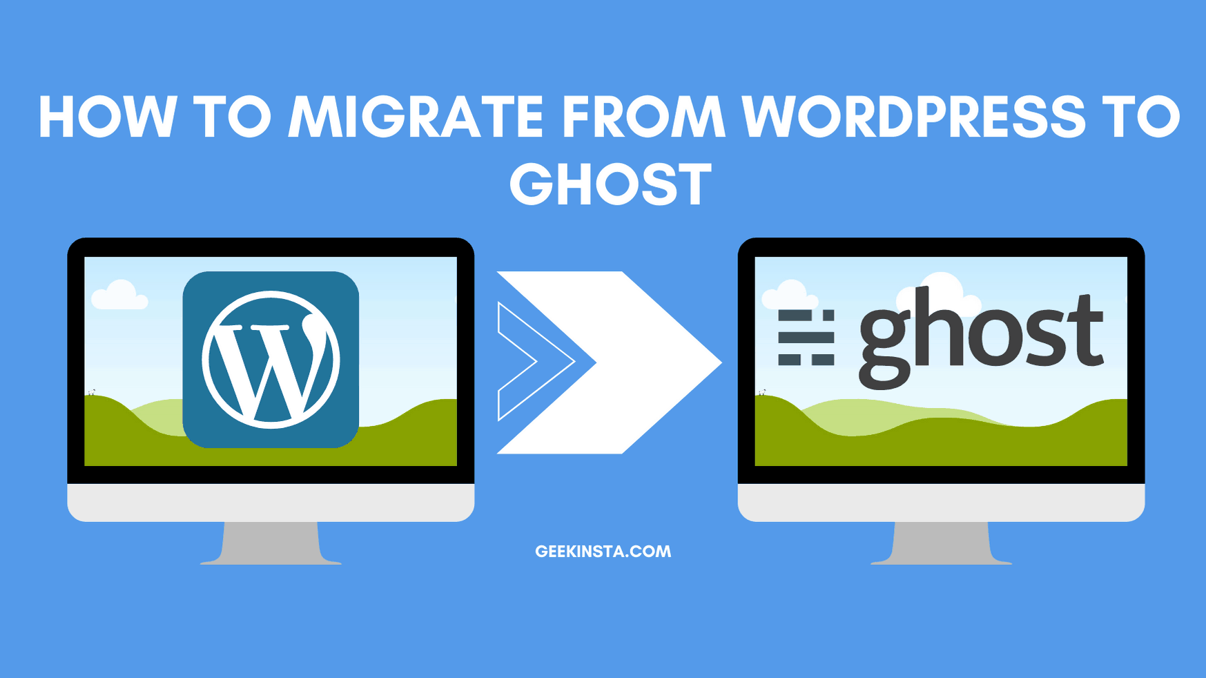 How to migrate from WordPress to Ghost