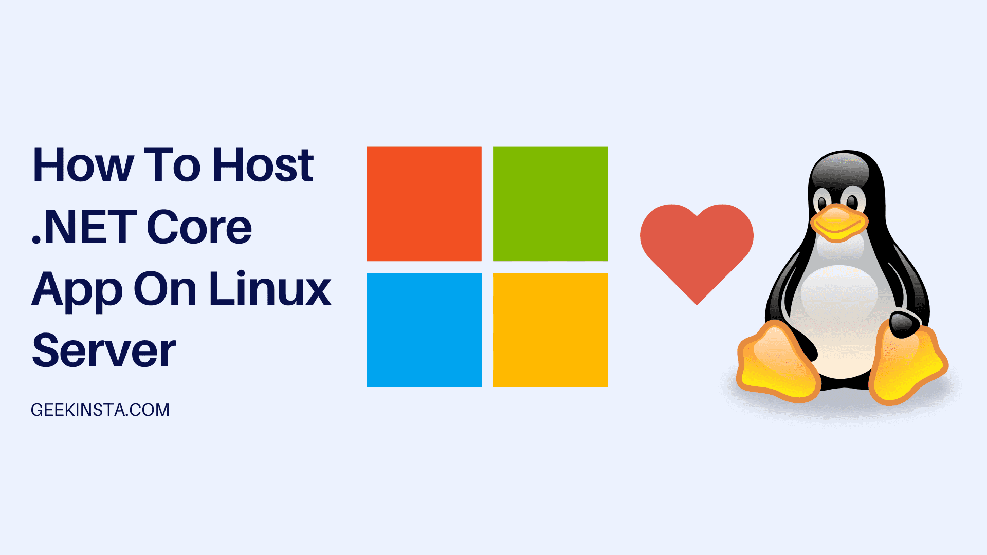 Host ASP .NET Core app on Linux server