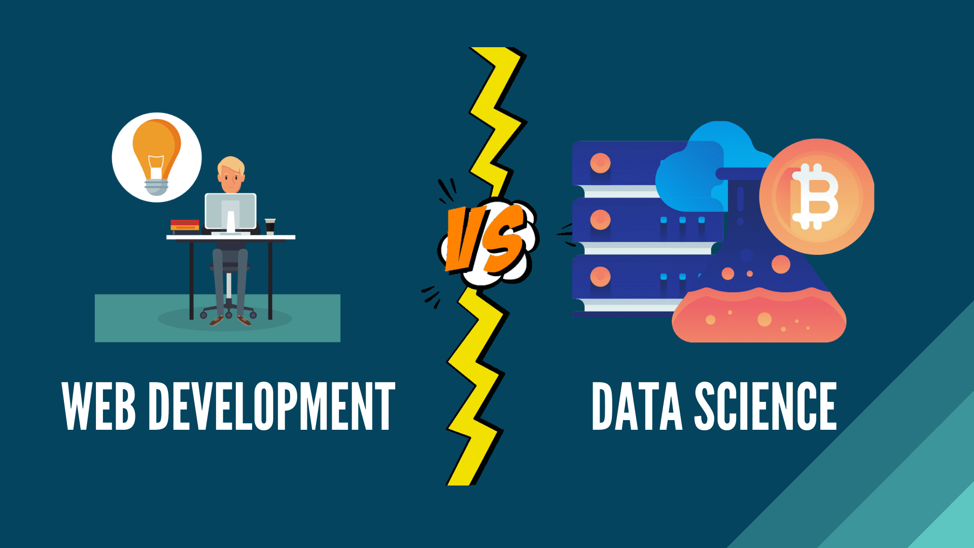 Why web development is a better career than data science?